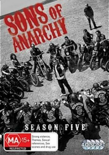 1 of 1 - Sons Of Anarchy SEASON 5 : NEW DVD