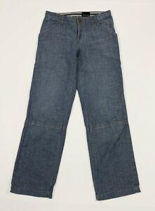 Calvin-klein-jeans-uomo-usato-W30-tg-44-gamba-dritta-relaxed-boyfriend-T5266