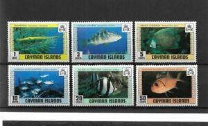 Fish Set - Cayman Islands - 1979 - MNH