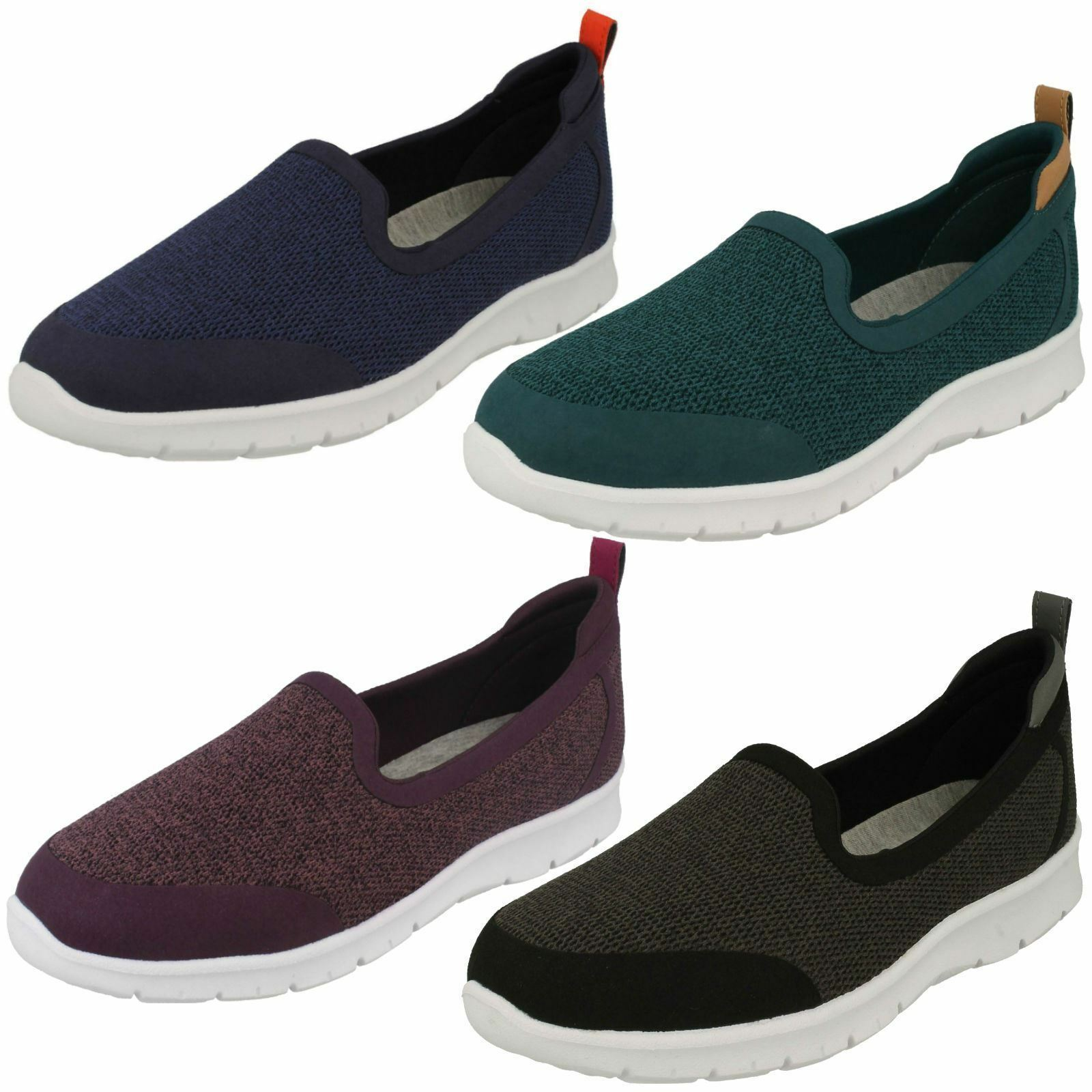 Donna Clarks Nuvola Steppers Step Slip-On Allena lo Scarpe Casual Slip-On Step 3a8eee