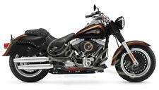 Saddleline HARLEY-DAVIDSON fat boy FLSTF full hardbody leather saddlebags NIB