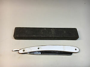 Old Vtg T.R. Cadman & Sons Straight Razor W/Box Bengall Sheffield England