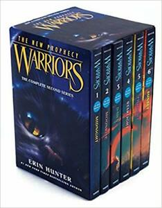 Warriors-The-New-Prophecy-Box-Set-Volumes-1-to-6-by-Erin-Hunter-PAPERBACK-2015