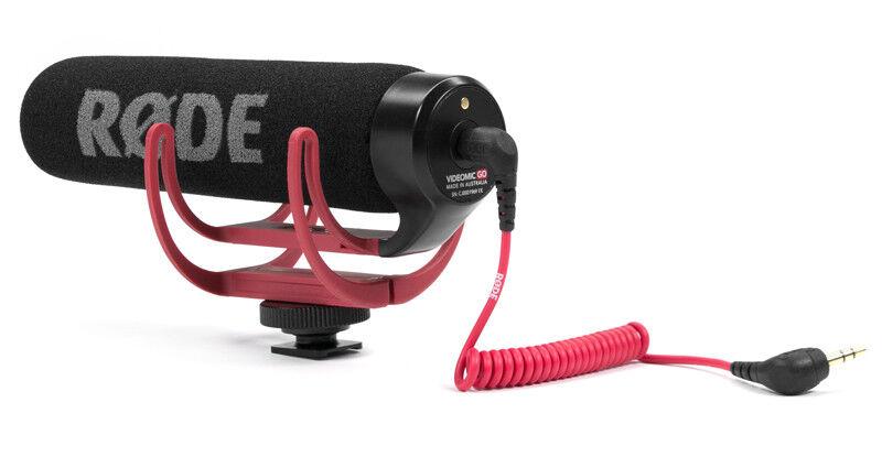 Rode Rode Rode vmg Videomic Go condensador richtrohrmikrofon  bienvenido a elegir