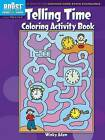 BOOST Telling Time Coloring Activity Book by Winky Adam (Paperback, 2013)