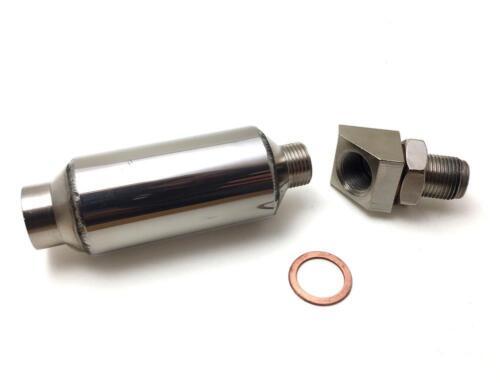 FOR OFF ROAD USE ONLY Huge Mini Cat O2 Sensor CEL FIX Eliminator 45 degree