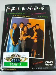 Friends Tercera Temporada 3 Completa Serie TV - 4 x DVD Español Ingles