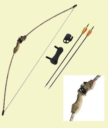 Pfeil und Recurve Bogen Set Recurvebogen in Camodesign Pfeile schießen NEU 33039