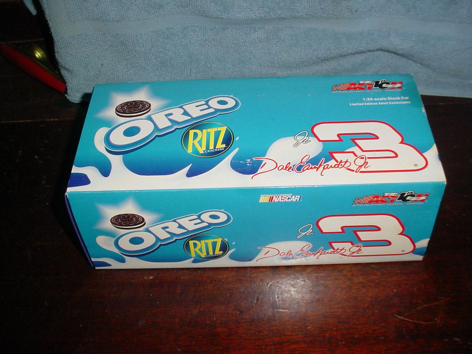 Dale Earnhardt Jr 2002 acción DIE-CAST 1 24  3 Oreo Ritz Monte Cochelo NasCoche