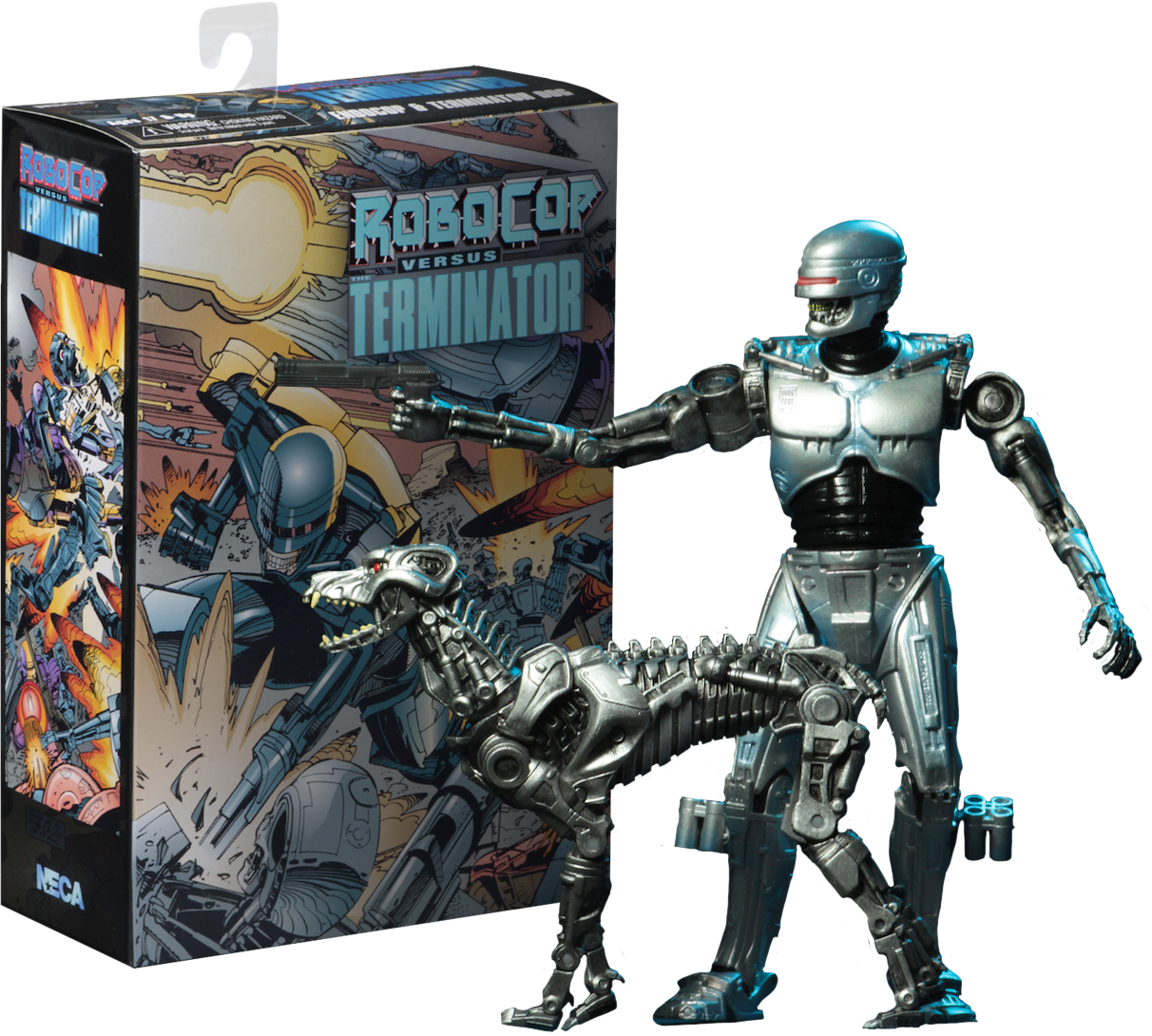New Robocop vs Terminator Endocop and Terminator Dog 7