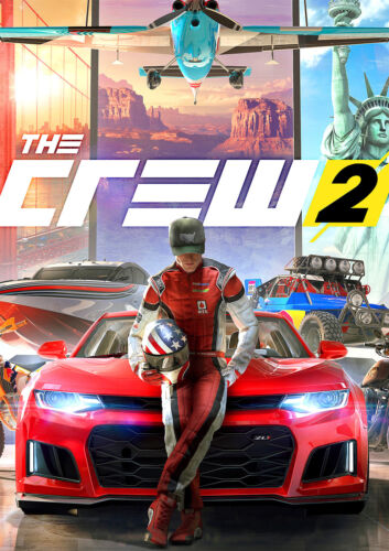 CHOOSE YOUR SIZE New Hit 2018 Xbox PS4 Racing Game FREE P+P The Crew 2 Poster