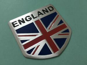 Union Jack England Flag Aluminum Sticker Auto Car 3d Logo Emblem