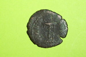 Commodus-177-AD-Philippopolis-Thrace-ancient-ROMAN-COIN-serpent-tripod-snake-G