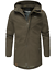 Weeds-senores-chaqueta-invierno-larga-chaqueta-Parka-abrigo-forro-calido-manakaa miniatura 10