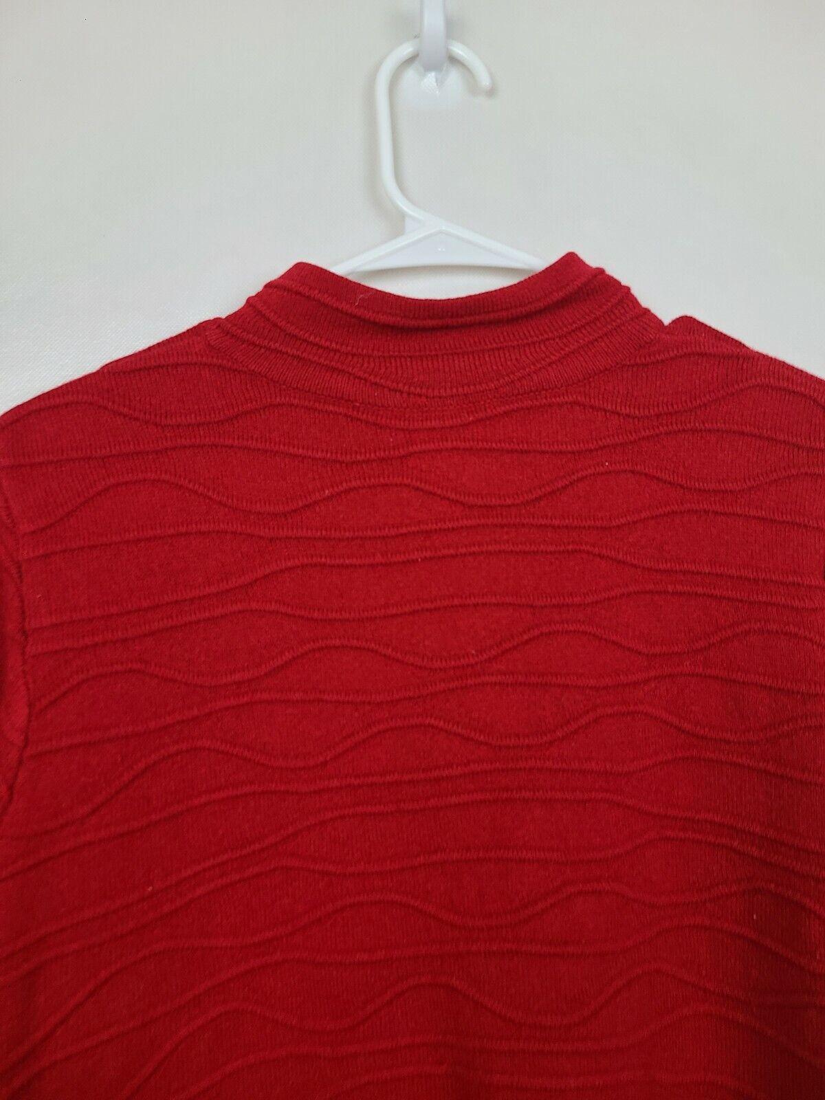 Coldwater Creek Womens Cardigan Sweater Medium Re… - image 4