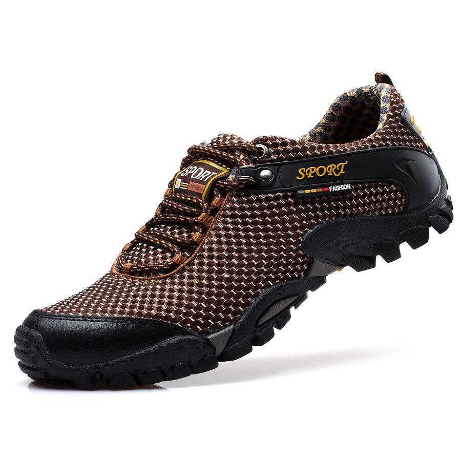 Uomini chic scalare sentiero trekking scarpe estate un'escursione outdoor scarpe scalare chic le scarpe n1 bb298a