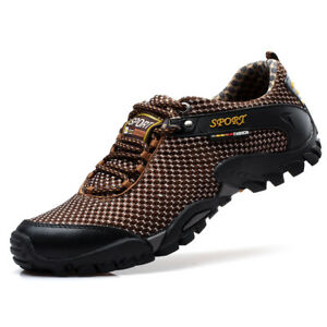 b5e24d4891a5 Details about Men's Summer Hiking Outdoor Shoes Fashion Trail Trekking  Sneakers Climbing Shoes