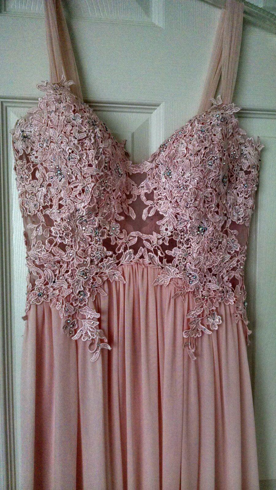 JOVANI PROM light-pink light-pink light-pink dress sz 4-6 f53e4a