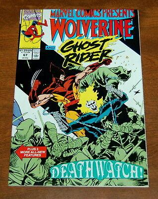 Marvel Comics Presents 1988 series # 67 near mint comic book