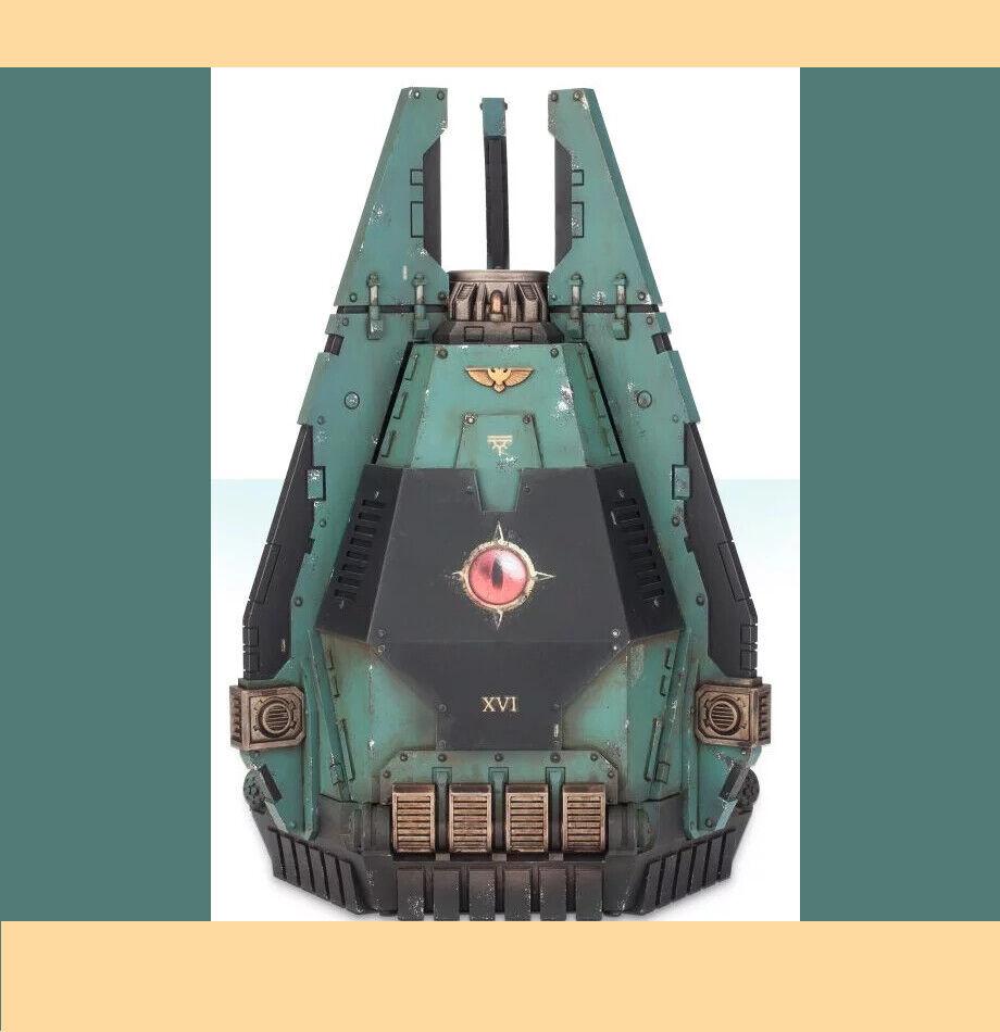 Nuevo Warhammer 40k 40,000 Legión Dreadnought Drop Pod Kit Modelo 1