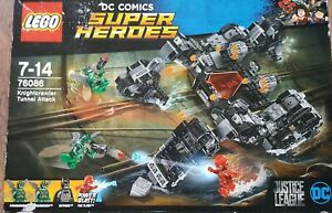 Dc Comics Lego Super Heroes 76086 Jouet d'attaque du tunnel Knightcrawler de la Ligue de la Justice