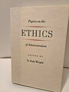 Papers-on-the-Ethics-of-Administration-1988-Hardcover