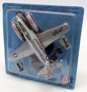 Fabbri 1/100 Escala Modelo de Avión AG-P019 - Avion Lockheed F-80 Usaf