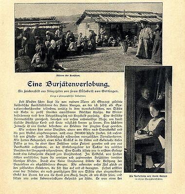 In Eine Burjätenverlobung In Urulga Ein Friedensbild Aus Kriegszeiten Von 1904 Fashionable Style;