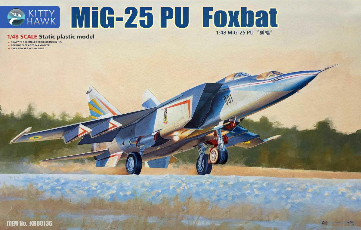 KITTY HAWK 80136 MiG-25PU Foxbat in 1 48