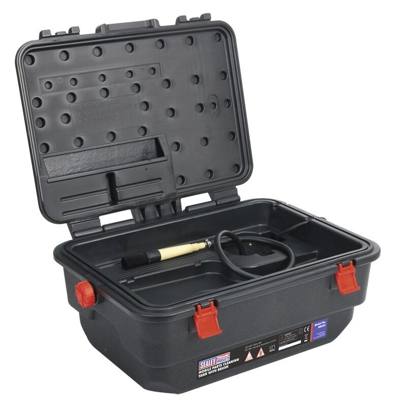Sealey Mobile Parts Cleaning Tank with Brush SM222