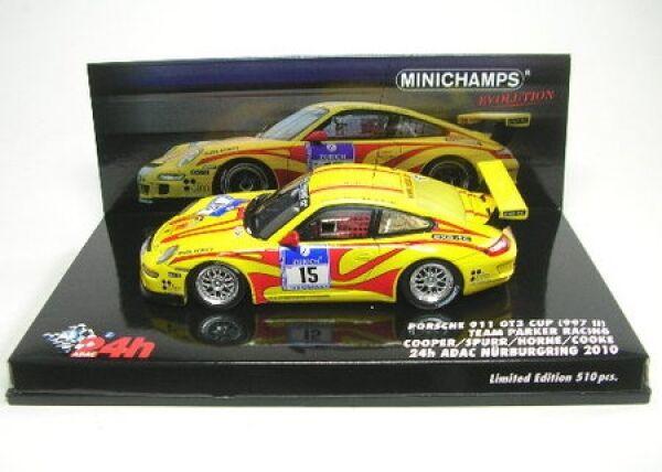 Porsche 911 gt3 Cup nº 15 24h nurburgring 2010