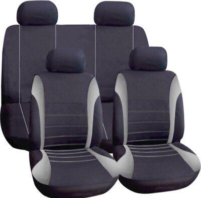 Grigio Coprisedili Auto Tessuto Lavabile Completo Per Ford Escort Explorer F-150 Fiesta- Delizie Amate Da Tutti