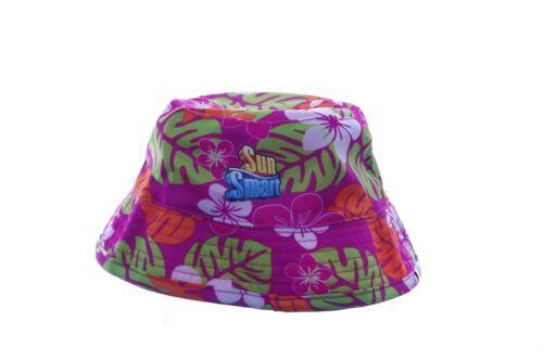 Kids Infant Toddler Sun Beach Hat Bonnet Water Hawaiian Boys Girls Pink Blue NEW