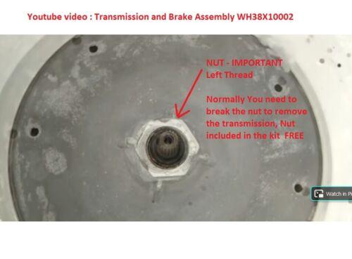 10WH38X10002-KIT3 GE Washer Transmission KIT repair for Oil Leak WH38X10002-KIT3