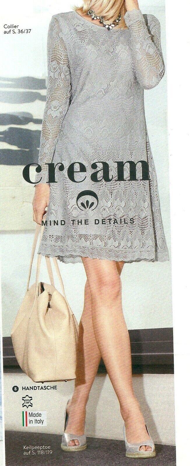 Kleid Spitzenkleid Freizeitkleid Festkleid hellgrau Gr. 38 42 44 46 | Ausgezeichnetes Handwerk  | Schöne Kunst  | Schön