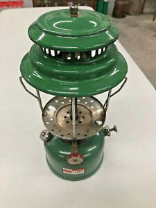 BS4-Vintage-Ash-Flash-Gasoline-Lantern-Double-Mantle-no-globe-nice-looking