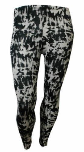 NEW WOMENS AZTEC ANIMAL SKULL LEGGINGS LADIES STRETCHY LEGGING PLAIN SIZE 12-34