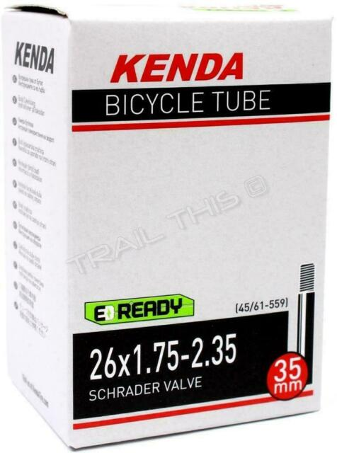 2x X-FREE Bicycle Inner Tube 20 x  1.75 Schrader Valve 35L
