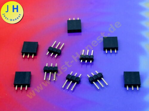 lápiz de barra de 3 polos kit cabecera//Pin strip Arduino #a1786 Stk.5x casquillos barra