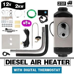 NEW-BELIEF-2KW-Diesel-Air-Heater-Digital-fuel-pump-clamps-section-Mobile