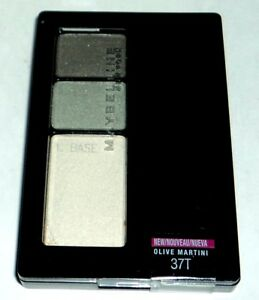 Maybelline-Expert-Wear-Eye-Shadow-Trio-Perfect-Pastels-OLIVE-MARTINI-37T-Sealed