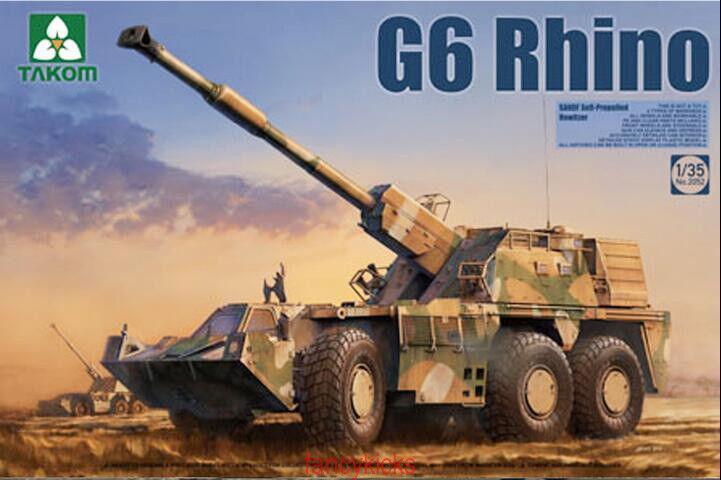 Takom 1 35 2052 G6 Rhino