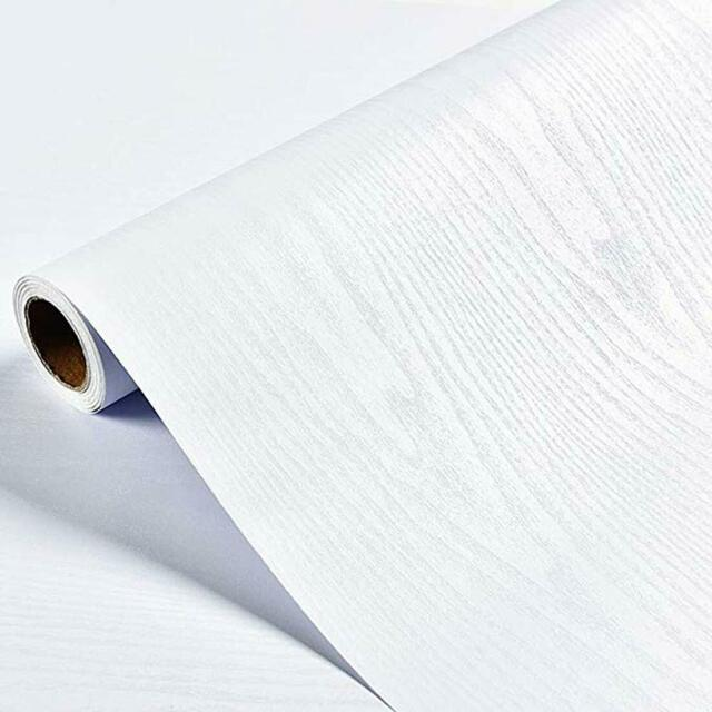 White Wood Peel And Stick Wallpaper Self Adhesive Vinyl Wallcovering Modern Film For Sale Online