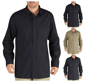 Dickies-Men-039-s-Tactical-Long-Sleeve-Shirt