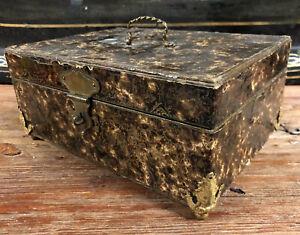 Boîte à Bijoux Coffret Ancien XIXeme Napoléon III French