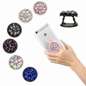 Bling-Diamond-Finger-Grip-Ring-Holder-Stand-Mount-Bracket-For-Mobile-x-W1K2