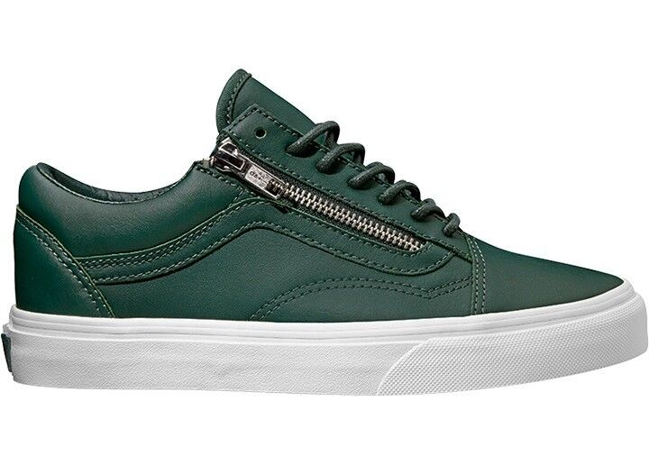 Vans Trainers Trainers Casual shoes Green Old Skool Zip ant. EVA Sole