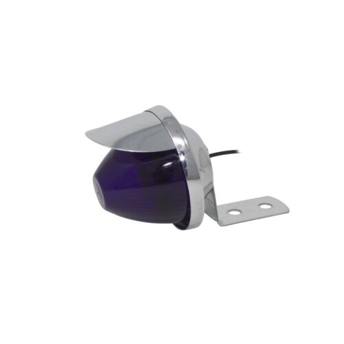 BICYCLE DUMMY BEE LIGHT WITH VISOR WIRE-UP PURPLE  LOWRIDER CYCLING NEW