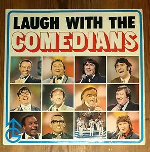 Various-Laugh-With-The-Comedians-Vinyl-LP-33rpm-1971-Bernard-Manning-etc