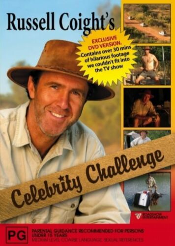1 of 1 - RUSSELL COIGHT'S CELEBRITY CHALLENGE (DVD) R-4, LIKE NEW, FREE POST IN AUSTRAIA